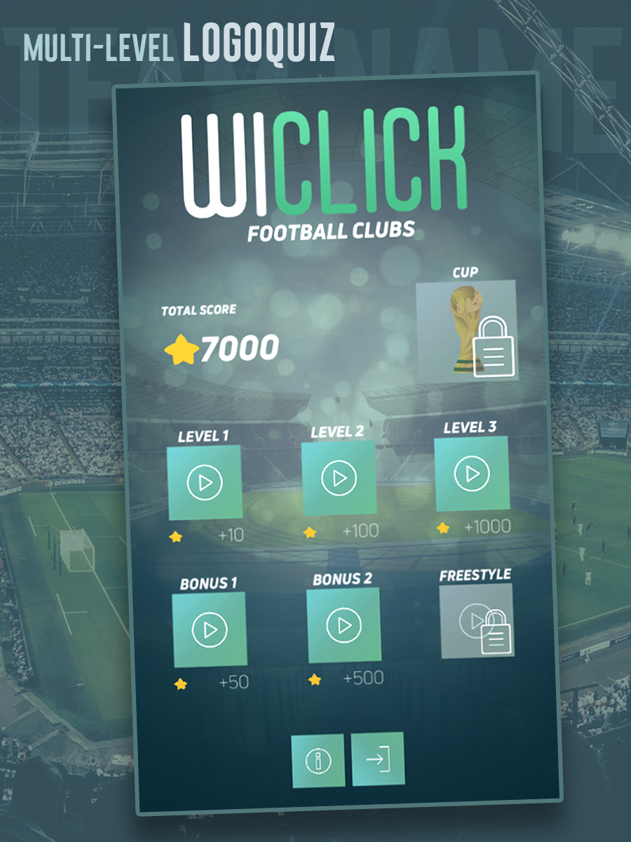 WiClick Football clubs